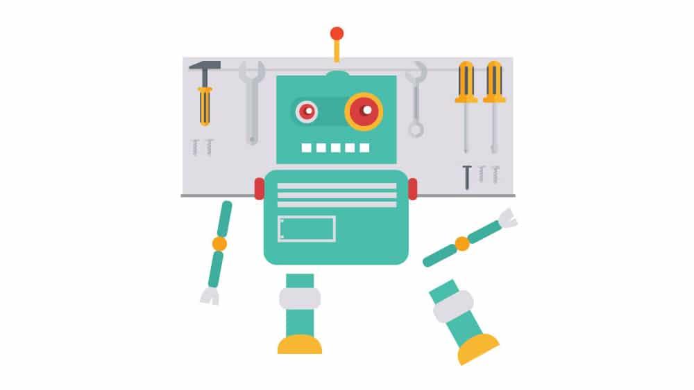 1000-Grad-Bot-profitabler-Chatbot-weißer-hintergrund