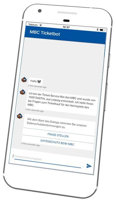 Online Chatbot MBC