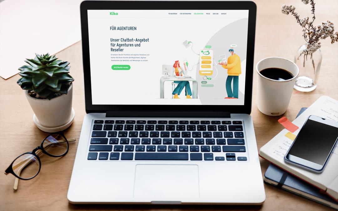 Kiko Chatbot für Agentur & Reseller